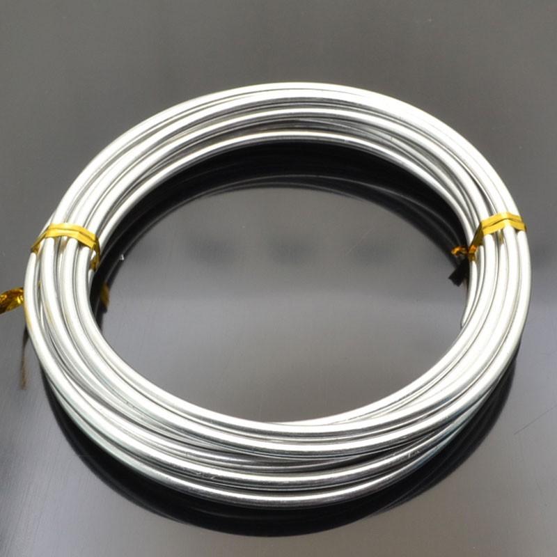 Filo di Alluminio spessore da 2.0 mm Modellabile Wire Fai da te
