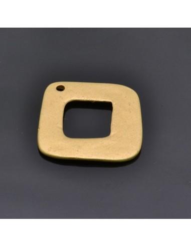 Ciondolo Zama quadrato Oro e Argento