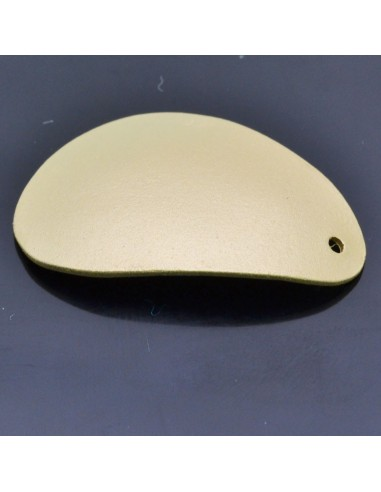 Ciondolo Zama forma ondulata Oro e Argento