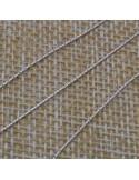 Catena argento piatta cobra 6 mm in argento 925% per 50 cm
