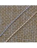 Catena argento piatta cobra 9 mm in argento 925%per 50 cm