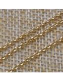 Catena Rolo in argento 925% sfaccettati arezzo 2 mm per 10 cm