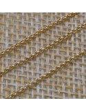 Catena Rolo in argento 925% di arezzo 1,3 mm per 10 cm